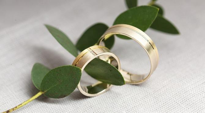 Двойные и тройные обручальные кольца